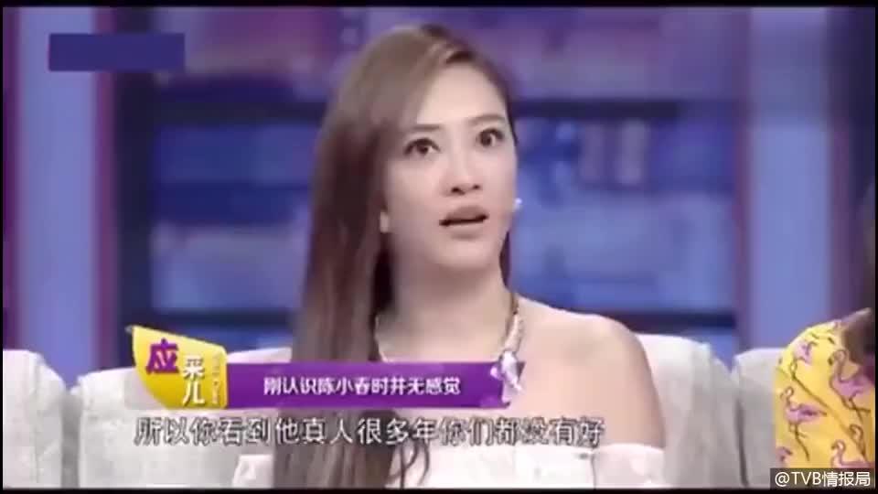 陈小春 应采儿回应当年陈小春苦恋张柏芝~