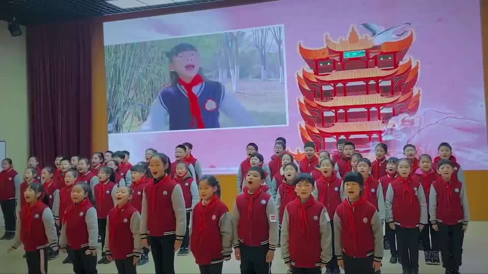 争做好学生开学第一天武汉青山师生发出响亮倡议