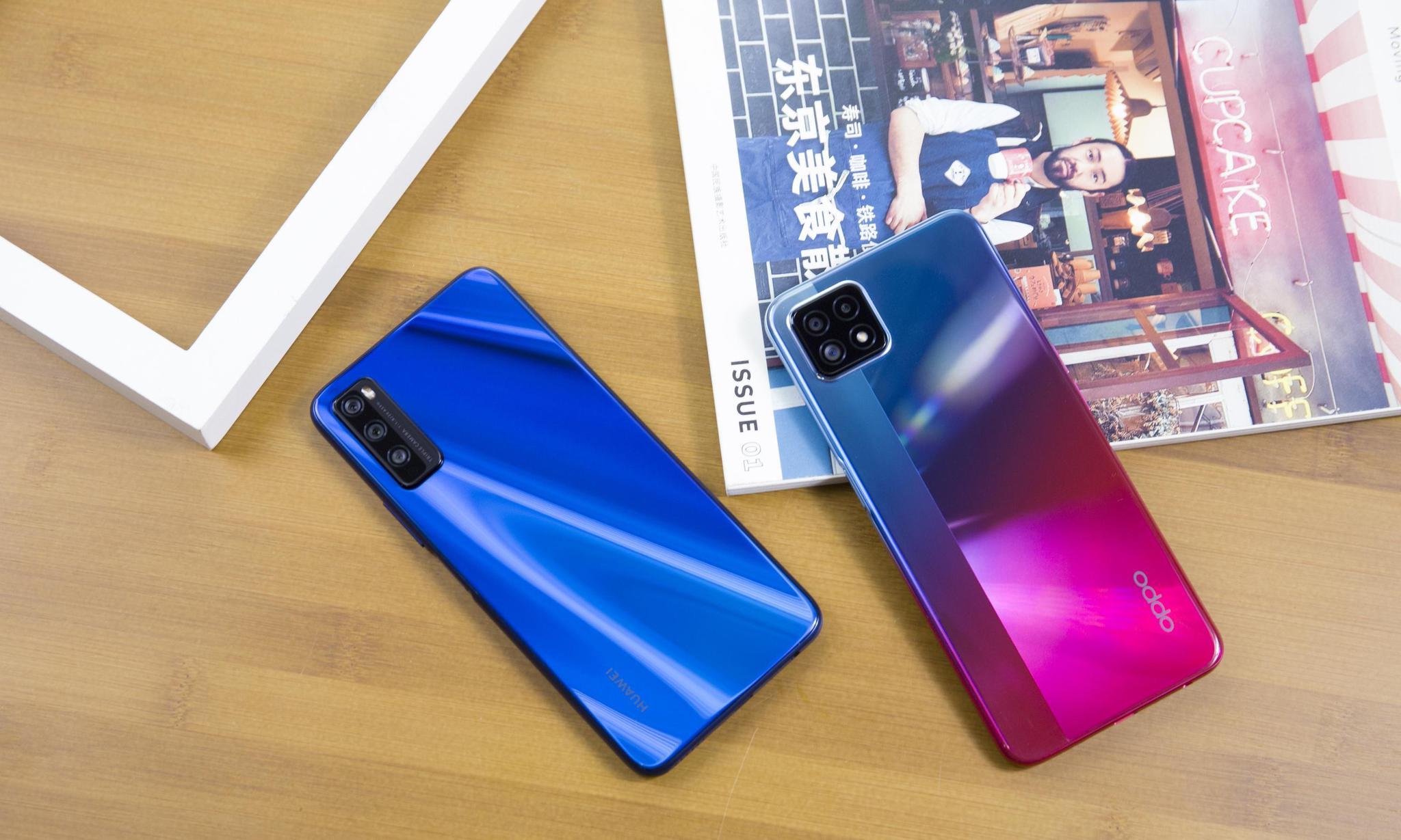 OPPO华为千元5G手机对比,为何我最终选择了OPPO?