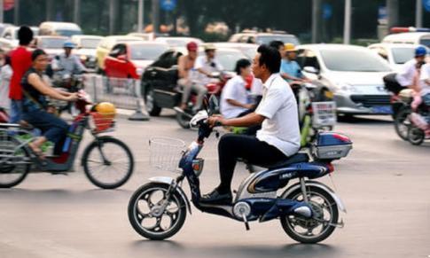 最喜欢骑电瓶车的城市,电瓶车比汽车还多,平均两个人就有一辆