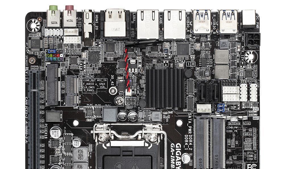 技嘉发布H410ITX主板:支持十代酷睿,需笔记本内存