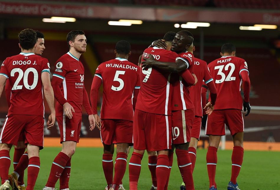 利物浦主场3-0大胜莱斯特城,英超+欧冠双线8场不败
