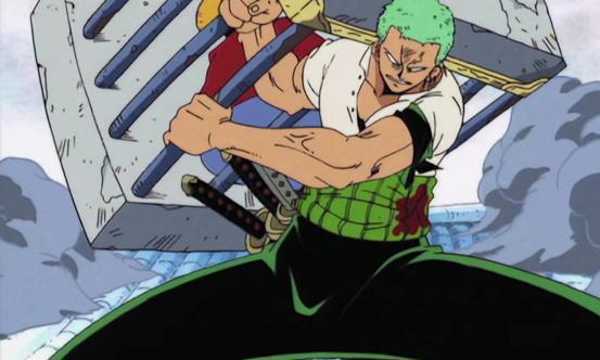 海贼王索隆最会宠溺人了,乌索普叫他背,索隆:不要跟我撒娇