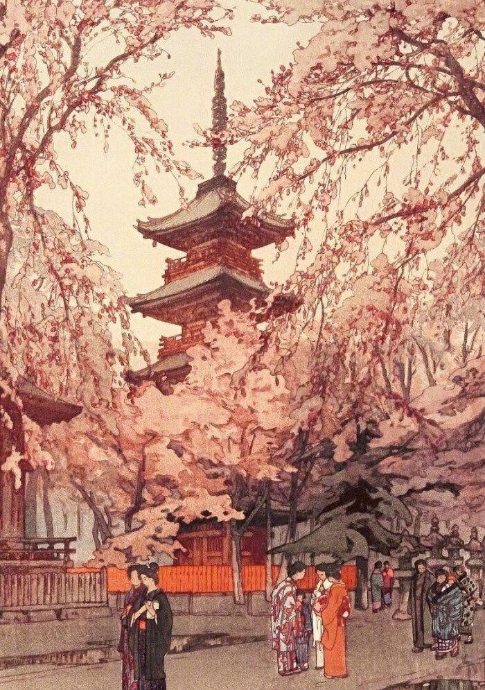 日本画师吉田博的版画艺术