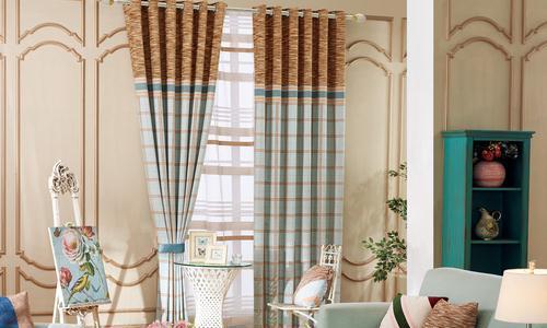 成品窗帘的材质不同特点也不同!
