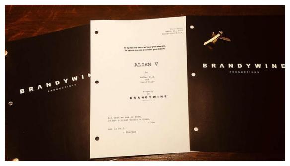 """""""异形人""""雷普莉回归,西格妮韦弗收到《异形5》剧本"""