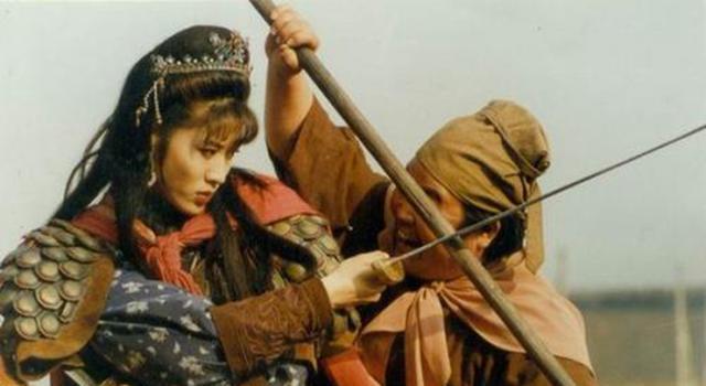 """98《水浒传》林娘子:原定""""西施""""蒋勤勤,拍了两场后被她顶替"""