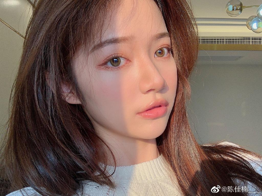 网红美女陈佳楠迷人美照好看啊