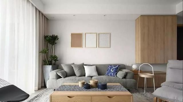 132㎡简约北欧风装修,文艺复古又有格调的家