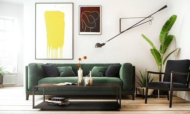 弱化主灯存在感的家居设计照明趋势:摇臂壁灯