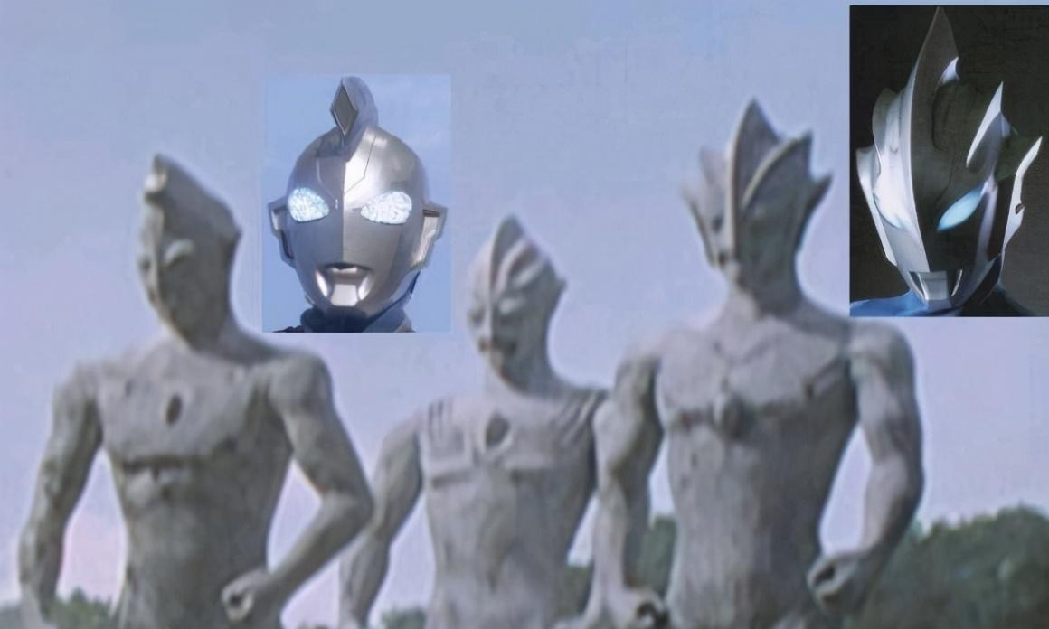 迪迦奥特曼中的另外两个石像,撞脸泽塔和托雷基亚,废案利用?