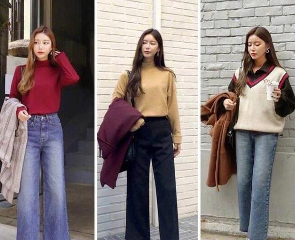秋冬温柔气质风毛衣穿搭示范,温暖时尚有女人味,值得借鉴