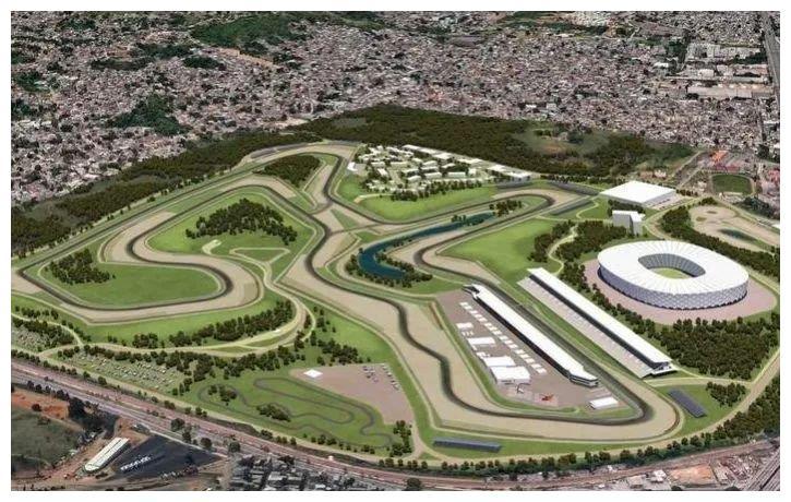 巴西第一大城市里约F1赛车场兴建计划暂告失败!