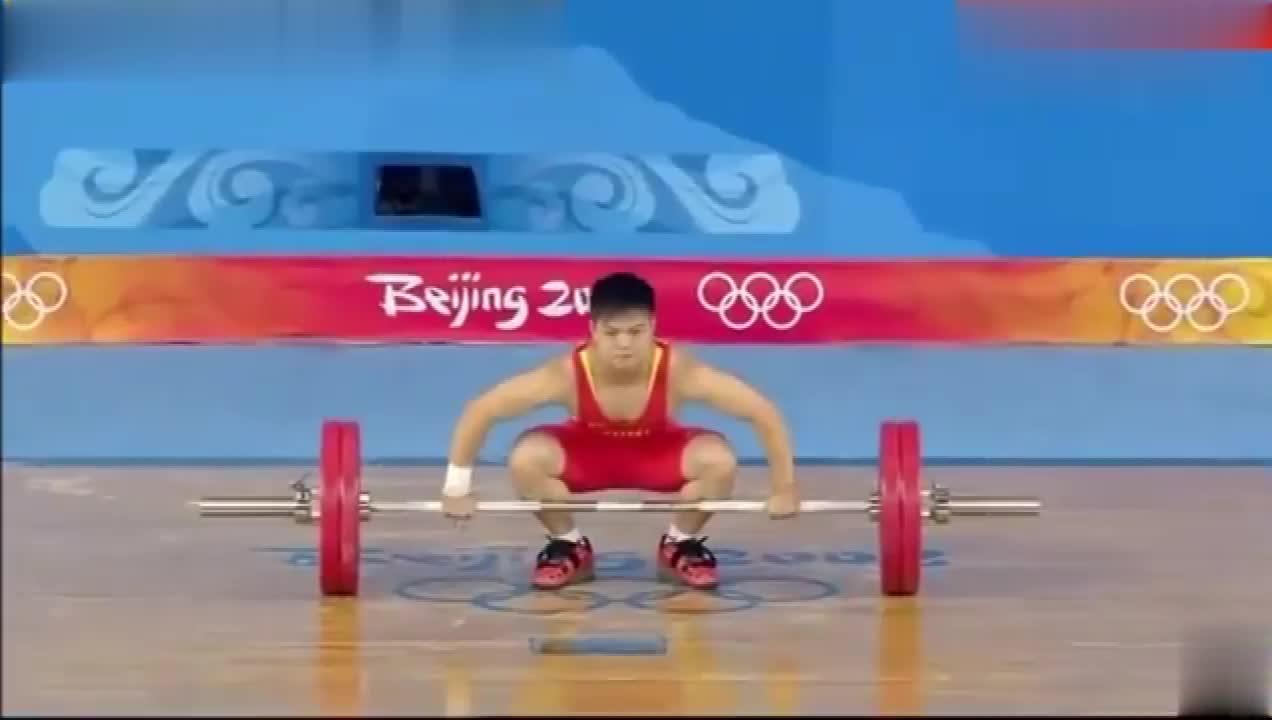 龙清泉北京奥运男子举重56公斤级夺冠!