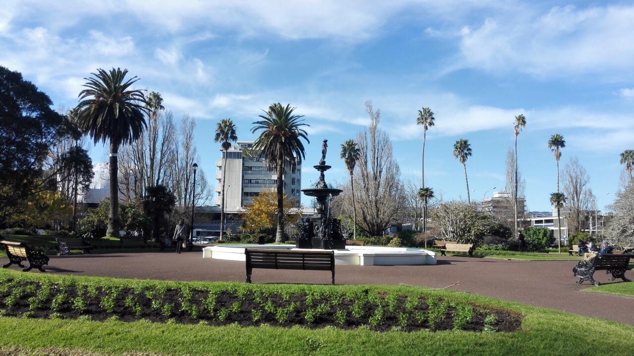 新西兰 奥克兰 阿尔伯特公园