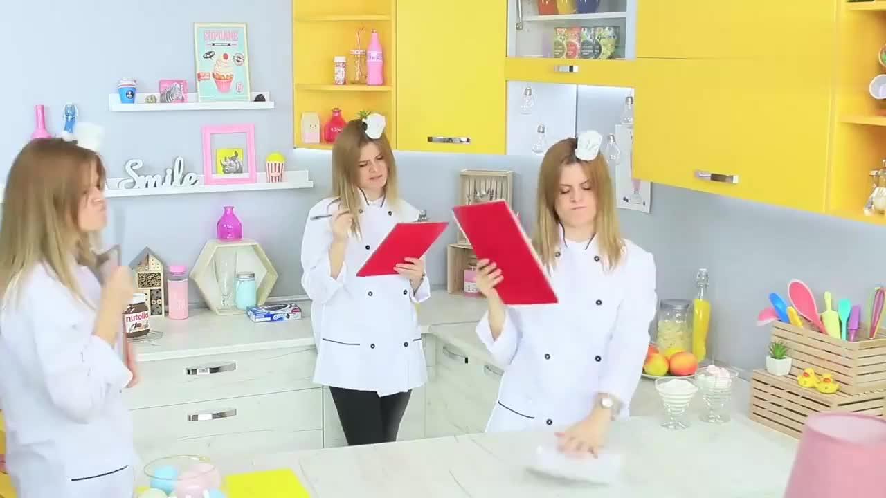 食物恶作剧,DIY巧克力酱vs奥利奥创意技巧和手工,闺蜜花样不停