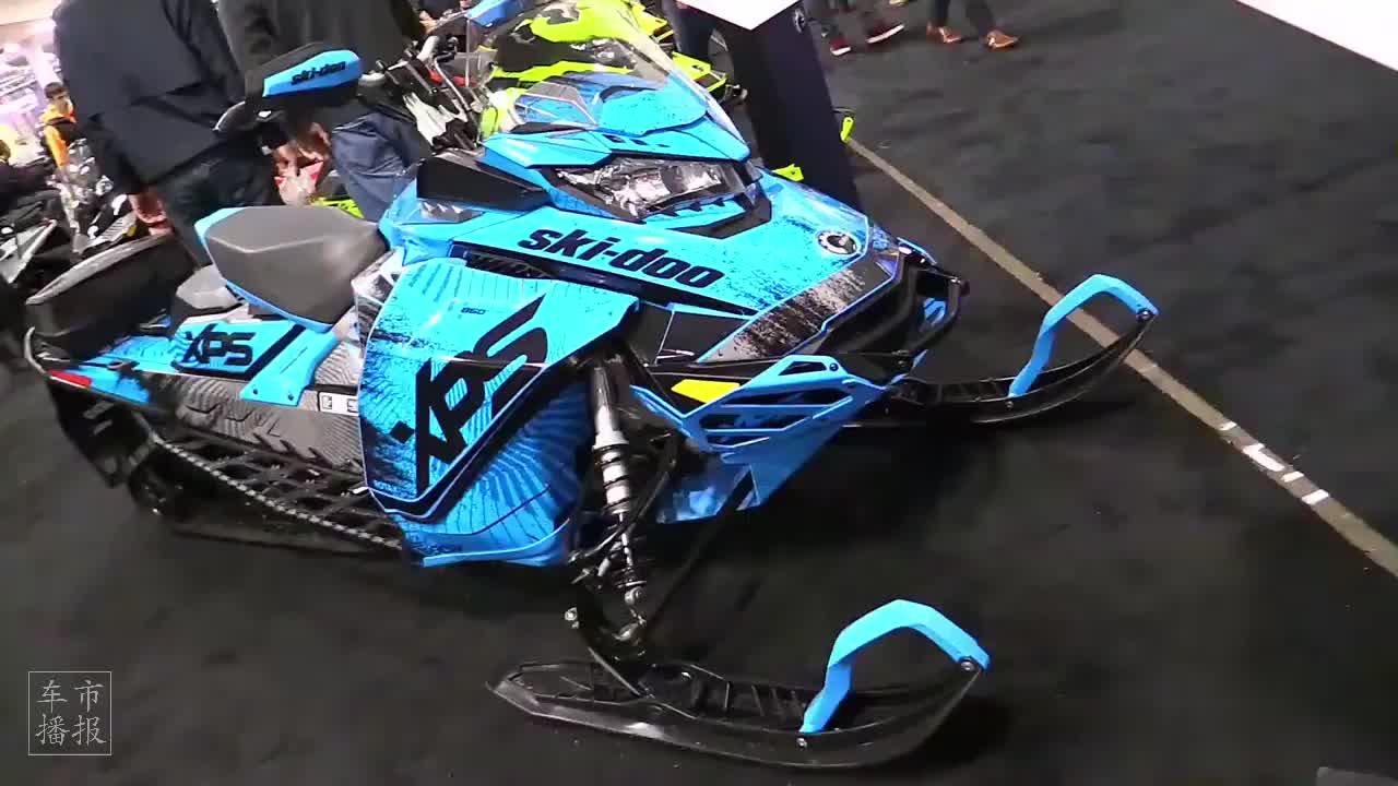 2020款 Ski Doo Backcountry 850 雪橇摩托