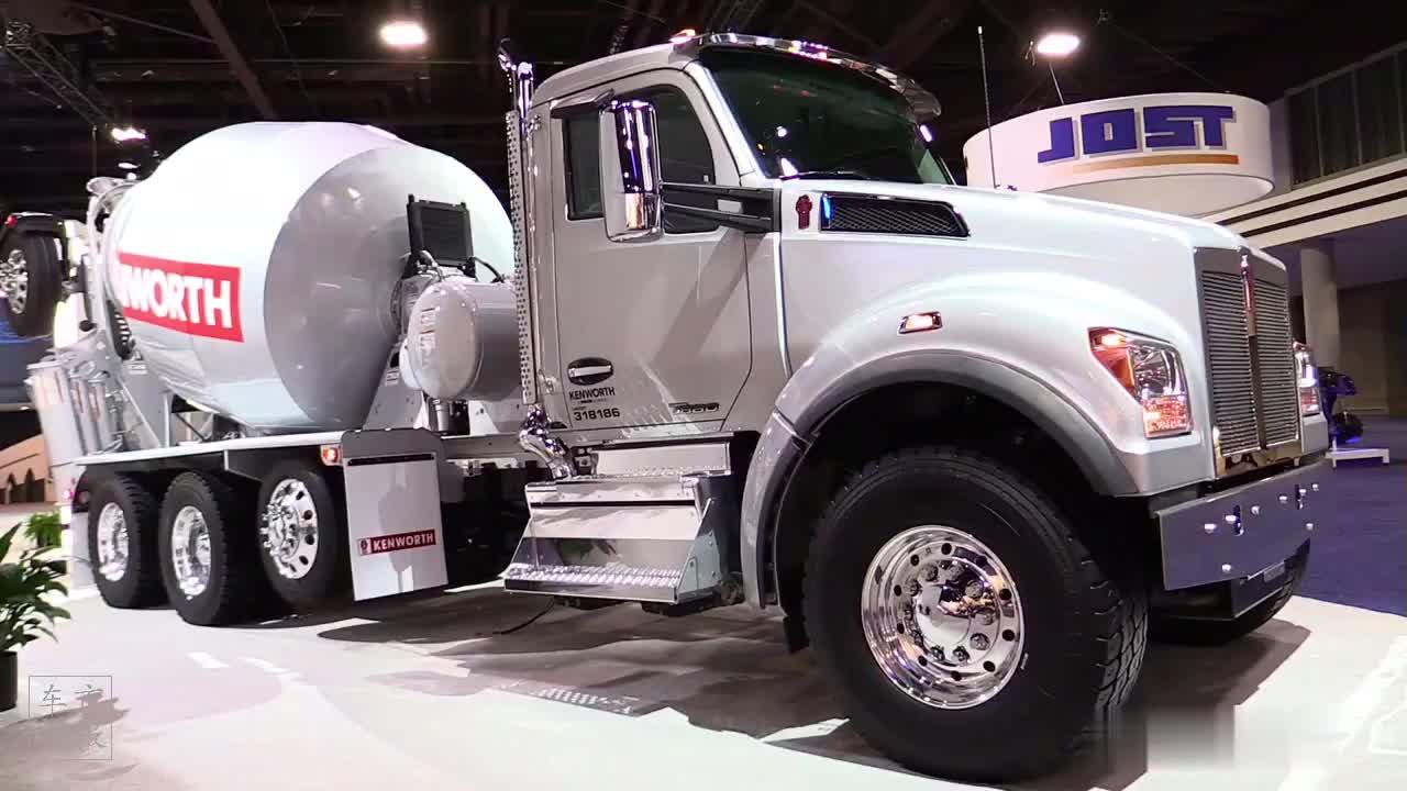 2020款 肯沃斯 T880 混凝土搅拌车