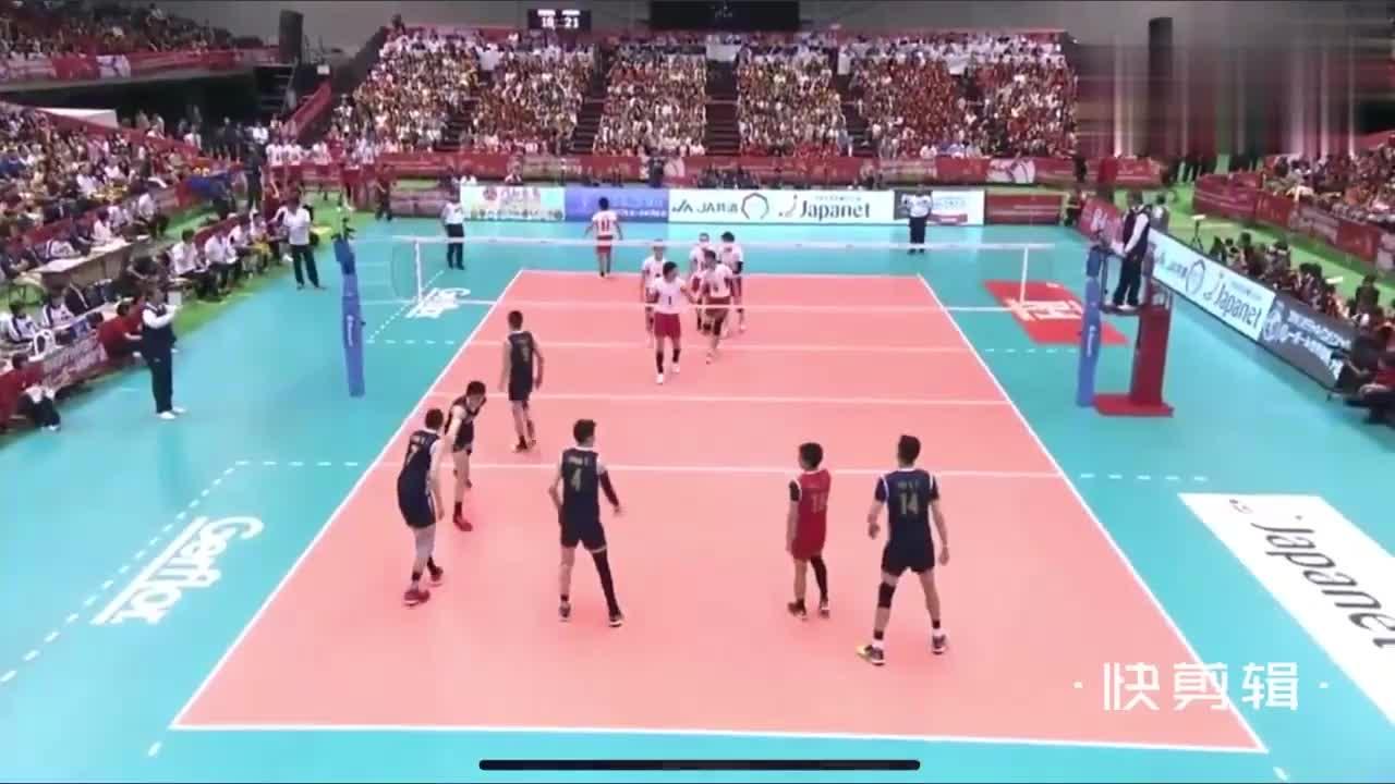 中国男排的巅峰时刻!在日本主场打的日本男排毫无抵抗之力!