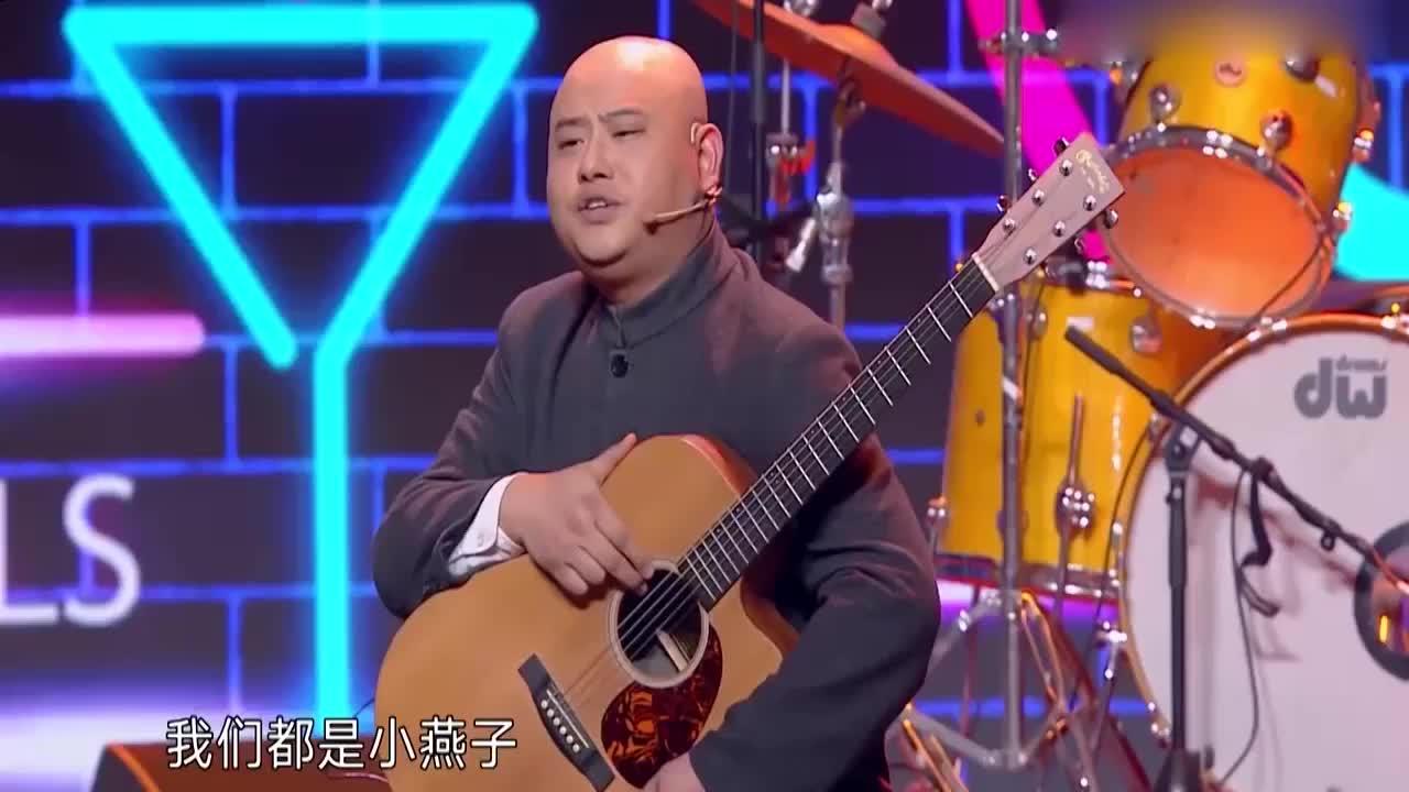 孙建弘自建摇滚乐队,对标甲壳虫,嗨翻全场