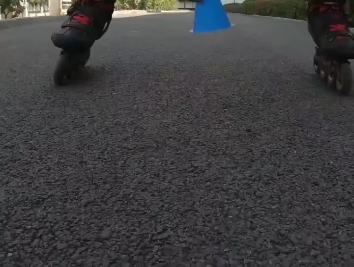 兵哥哥的周末娱乐,轮滑GoGoGo!如此顺滑流畅,心动不如行动!