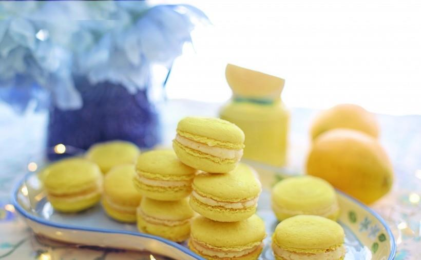 《法式甜点彩色小圆饼马卡龙》立地太岁-协助拍摄