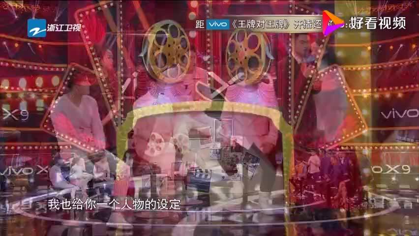 蒋雯丽老师表演舞彩带,动作优美连对手都夸赞,真厉害!
