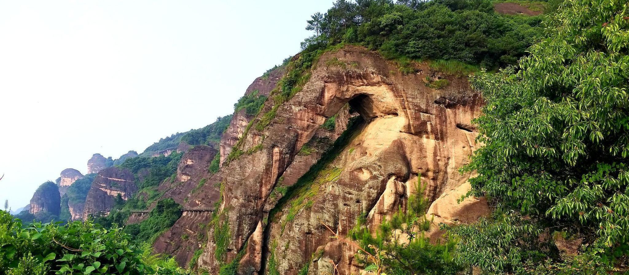 江西省 鹰潭市 龙虎山 象鼻山地质公园