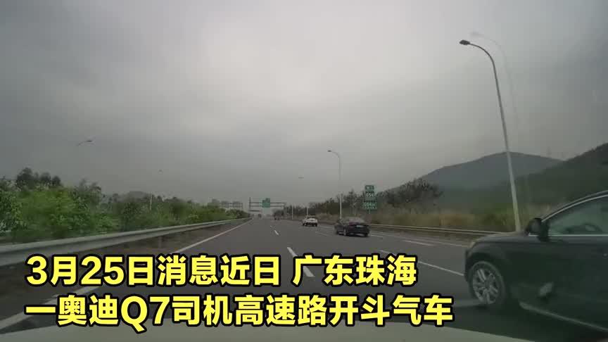 实拍广东路怒奥迪司机60秒别车11次 原因让人哭笑不得