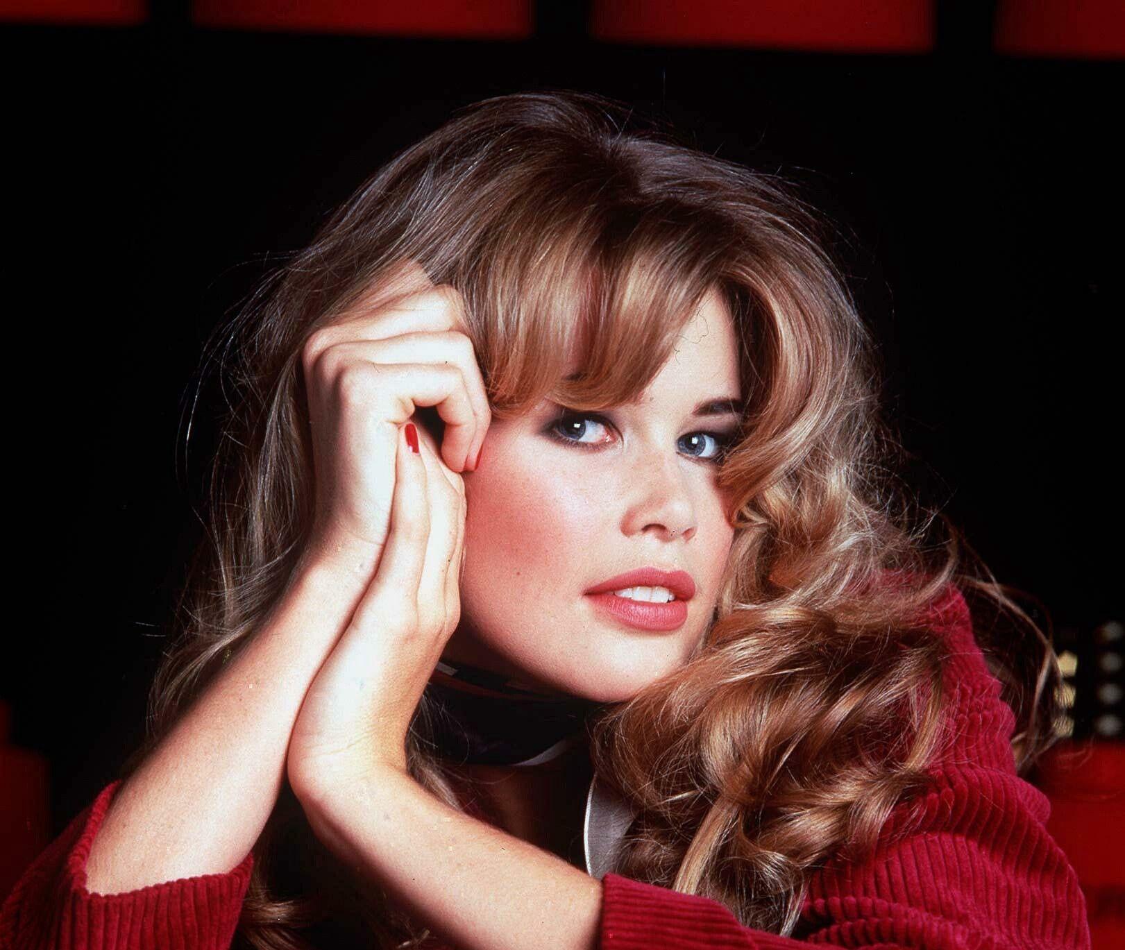 90年代,集美貌智慧一身的超模克劳迪娅·希弗,美得移不开眼!