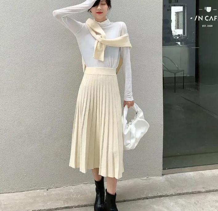 秋冬百搭半身裙合集,时髦显瘦身又保暖