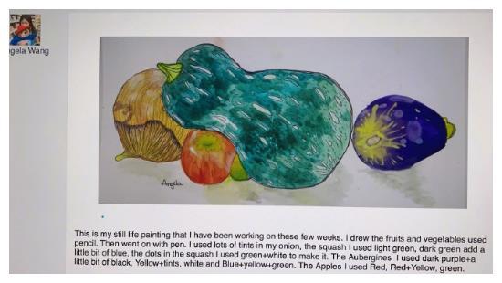 10岁王诗龄在家学画画、学炒菜,李湘忍不住炫耀,这才是最好教育