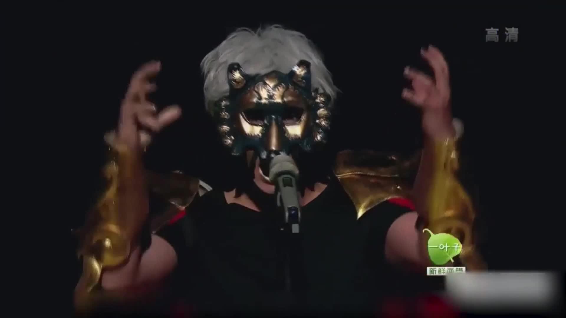 蒙面歌王:原来欧弟唱歌这么好听,把现场气氛搞到高潮,厉害了!