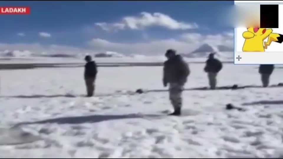 实拍印度士兵在零下20度气温下做瑜伽,真是开了挂了!
