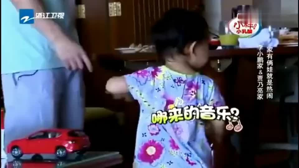 李小璐李安琪突袭,甜馨与奥莉高兴坏了,终于见到妈妈了