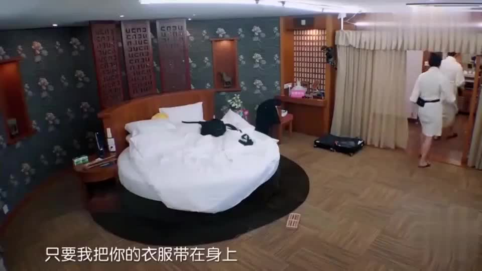 张智霖让袁咏仪将他的衣服随身带-有我的味道,你睡的香一点!