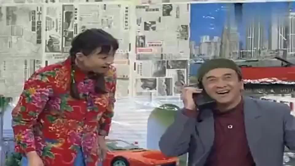 宋丹丹骑着黄宏找报纸,黄宏-媳妇一着急,丈夫就成驴!