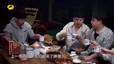 综艺片段:何炅老师这饭量大,自曝曾在黄磊家中吃了四碗!