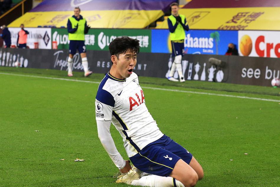 孙兴慜打入制胜球,托特纳姆热刺1比0伯恩利,升至英超积分榜第5