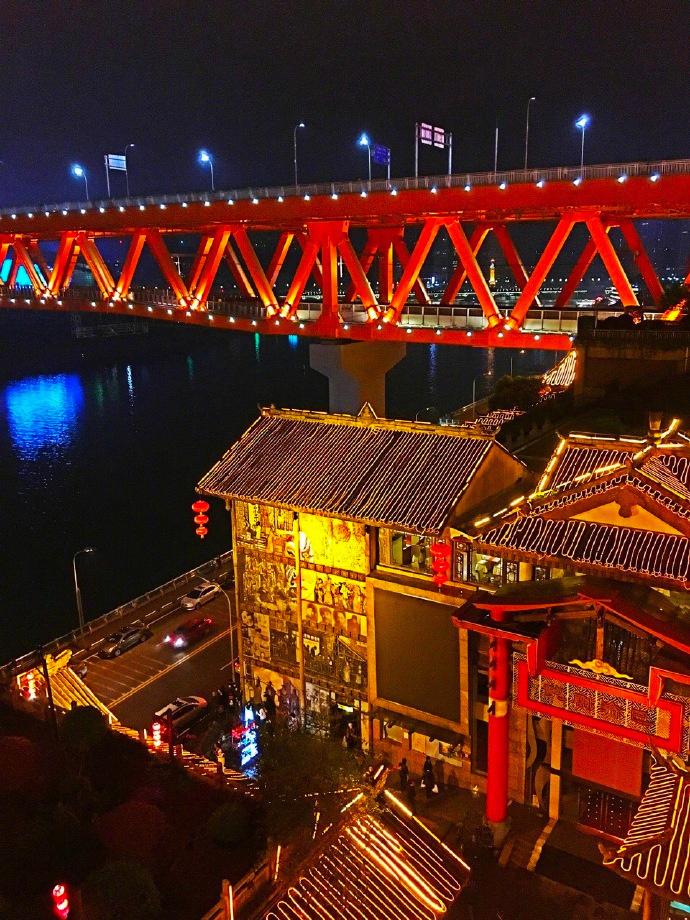 重庆洪崖洞,中国版的千与千寻