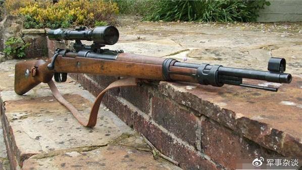 从第二次世界大战用到利比亚内战,跨世纪名枪,德国毛瑟98