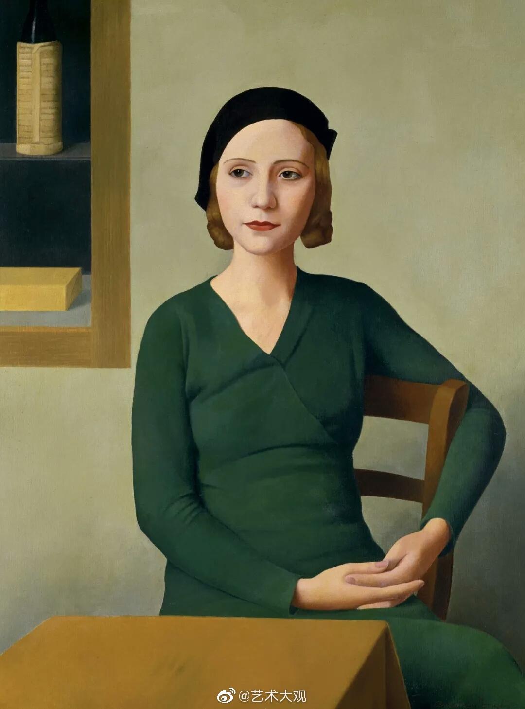 意大利艺术家安东尼奥东希新古典主义油画作品欣赏Antonio Donghi(18
