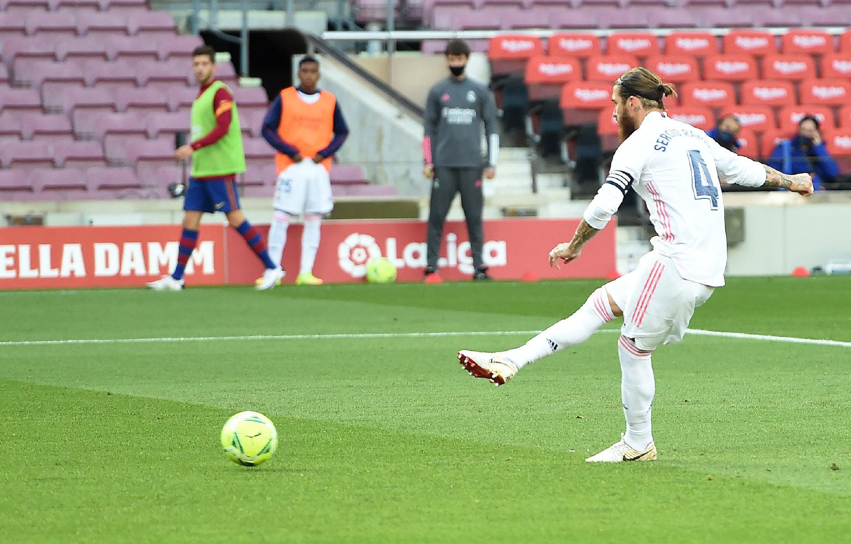 双方闪电进球魔笛绝杀 巴塞罗那 1-3 皇家马德里