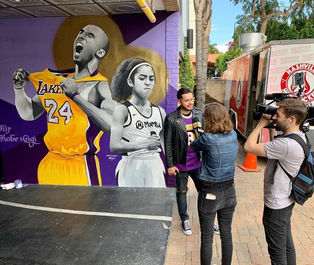 Kobe & Gigi Forever1921 N Highland Ave, Hollywood