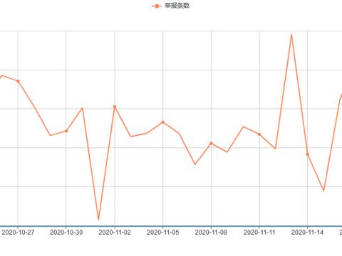 2020年11月西藏网络举报受理情况