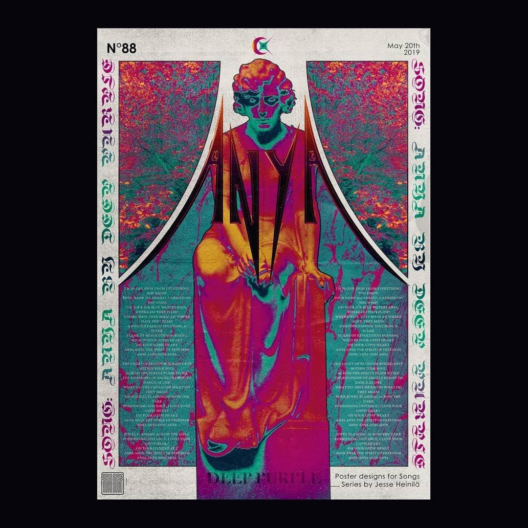 设计师 Jesse Heinilä 创意海报设计。