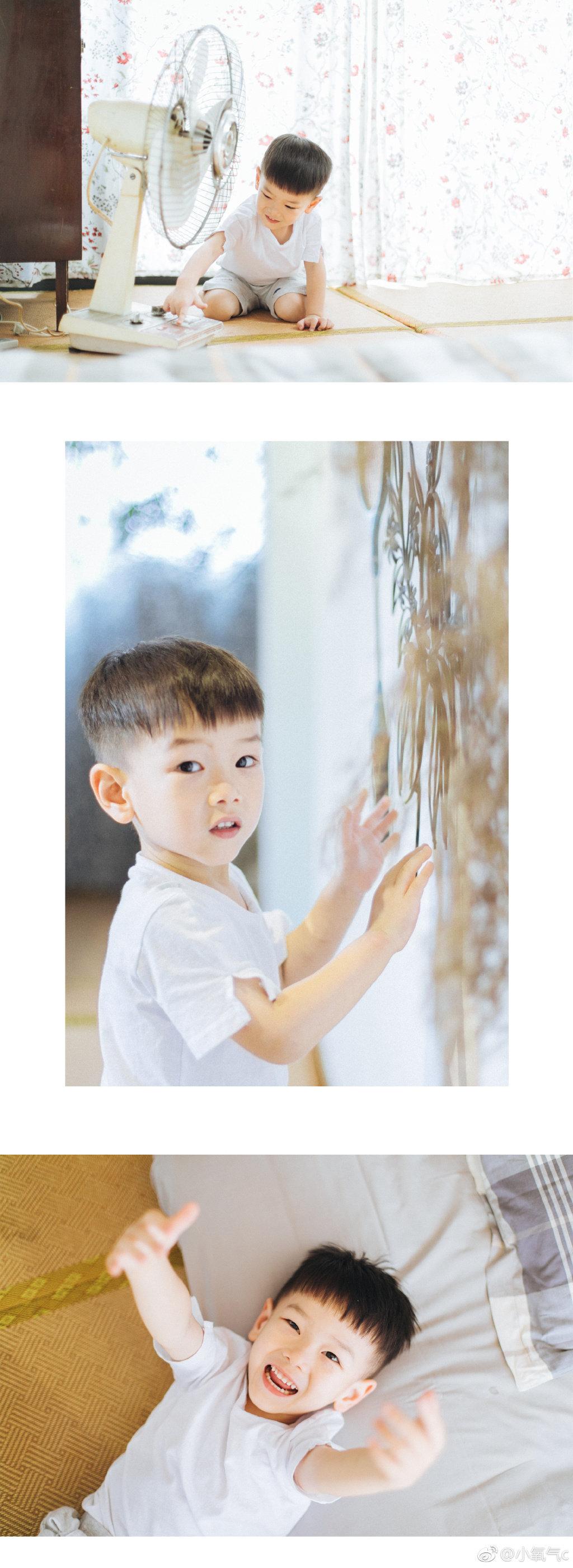 日系清新室内儿童摄影后期调色教程作者@小氧气c