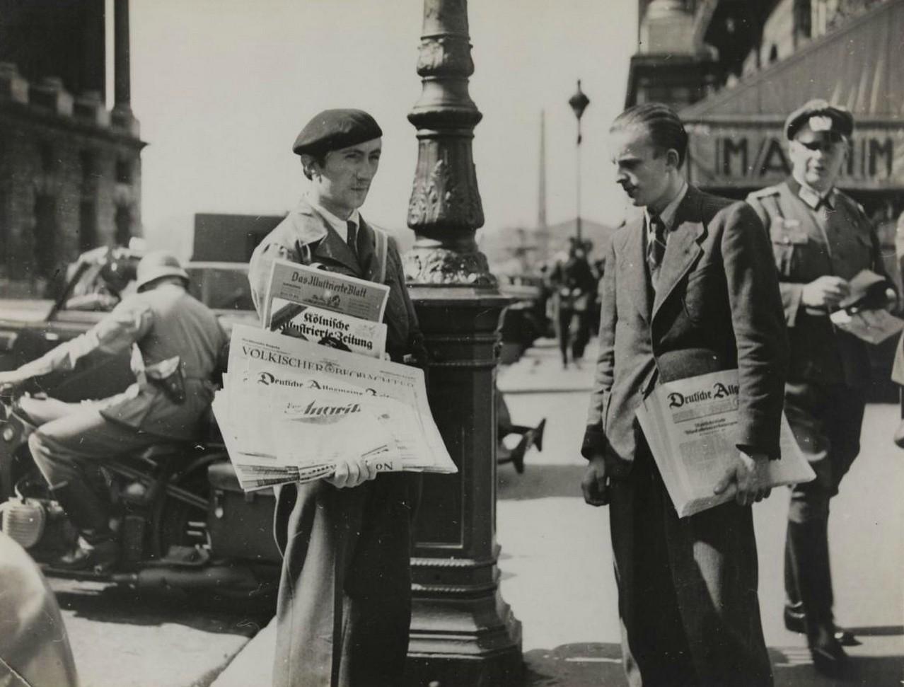 德国占领时期,1940年