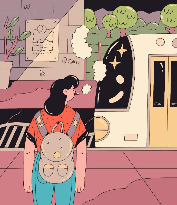 童话绘画, 来自墨西哥插画师 Valeria Alvarez