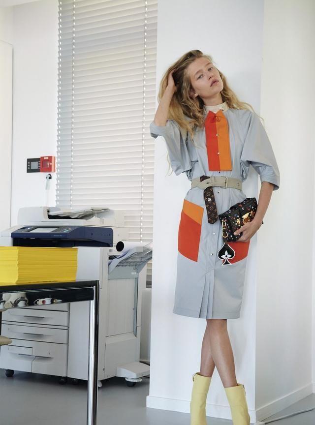 Louis Vuitton RESORT 2021 穿着路易威登去度假